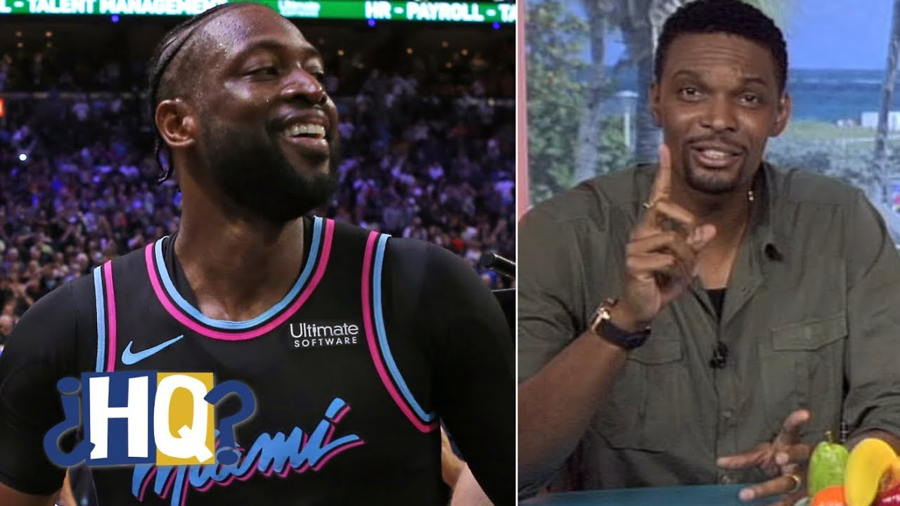 Chris Bosh salutes D-Wade, gives Zion advice & talks LeBron shutting it  down | Highly Questionable
