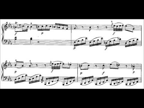 Wolfgang Amadeus Mozart - Piano Sonata No. 4 in E Flat Major, K. 282 (Piano Solo)