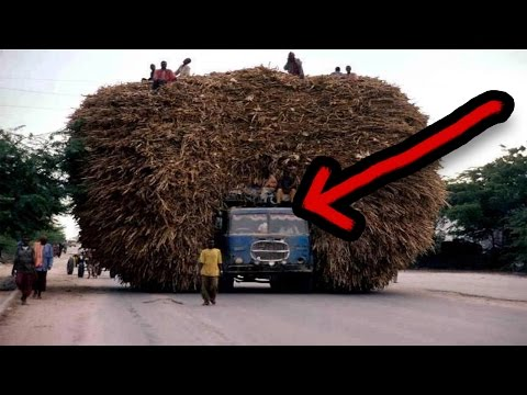 ग़जब ओवर-लोडिंग की विडियो | The most overloaded vehicles | Funny & weird