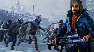 I Went to Moscow during A Zombie Apocalypse in World War Z Gameplay