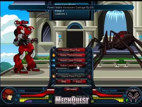 MechQuest Mission/Quest [VS Mega Spider]