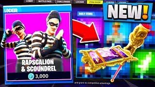 *NEW* ROBBER SKINS IN FORTNITE! (Scoundrel and Rapscallion)