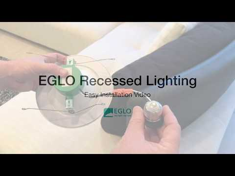 EGLO Recessed Lighting Installation Video
