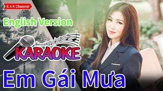 Em Gai Mua (Huong Tram) (Karaoke) (English Version) Duoc Lam boi E n K Channel