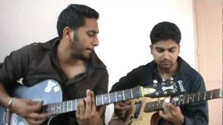 pyaar hua ikrar hua hai on guitar.MPG