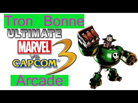 Ultimate Marvel VS Capcom 3 Arcade - Tron...