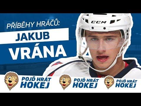 Z malého klubu až do NHL. Jakub Vrána ukázal jednu z možných cest