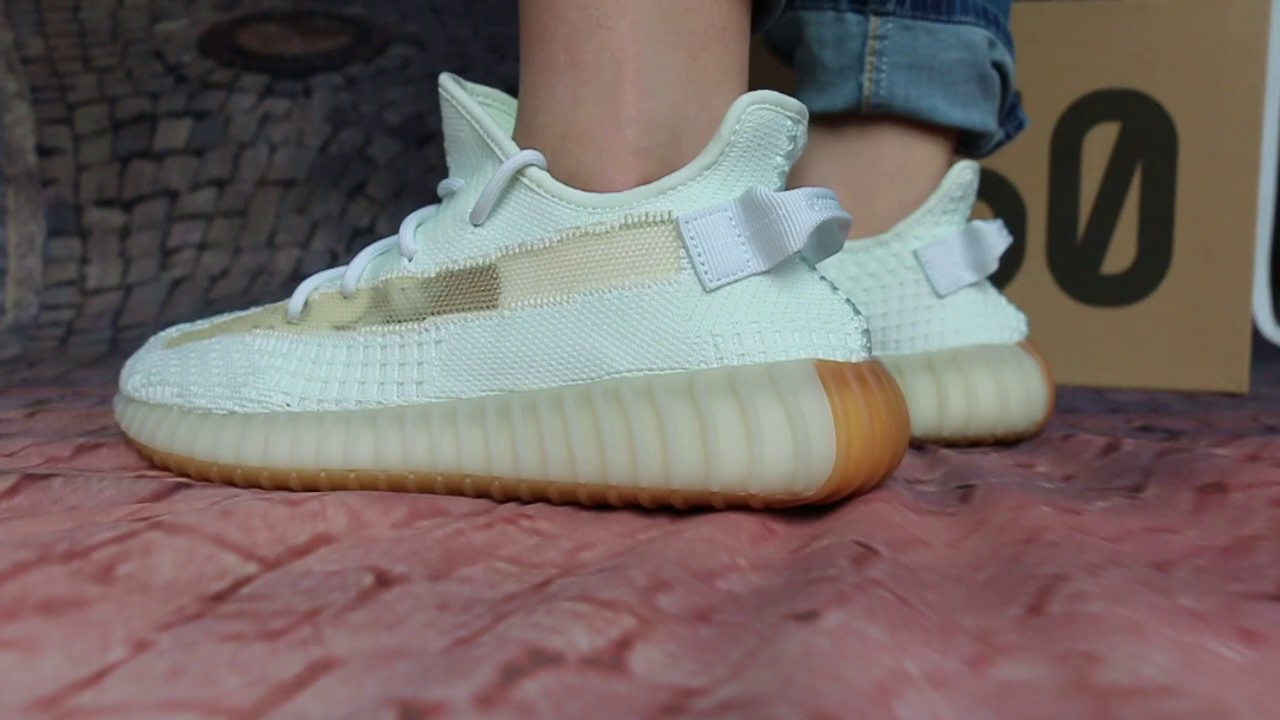 """061cd9121b72e Authentic Yeezy Boost 350 V2 """"Hyperspace"""" On Foot Review - YouTube"""