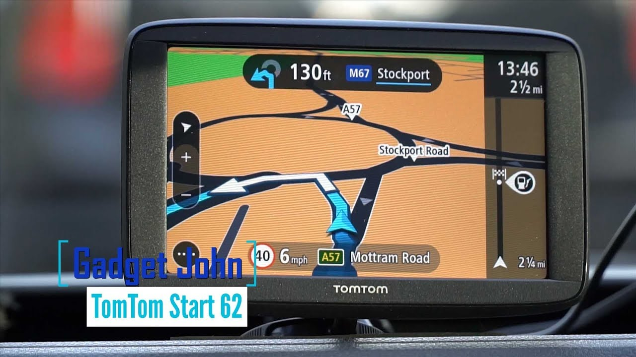 tomtom start 62 gps satnav setup full review youtube. Black Bedroom Furniture Sets. Home Design Ideas