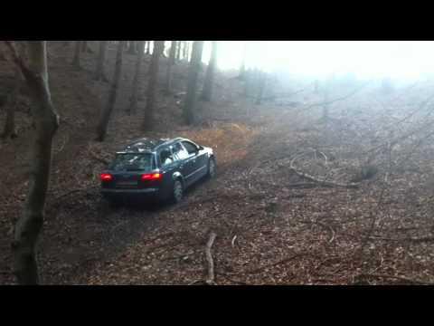Audi A4 B7 steil bergauf quattro =D