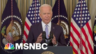 Biden: 'Refusal To Get Vaccinated Has Cost All Of Us'
