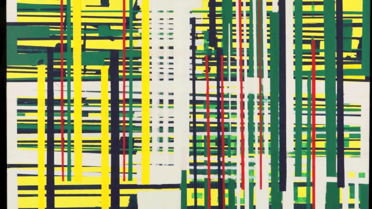 Extrêmement Pierre Ducellier dit WINDORF peintre abstrait géometrique - YouTube HN71