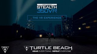 turtle beach stealth 350vr headset official product video