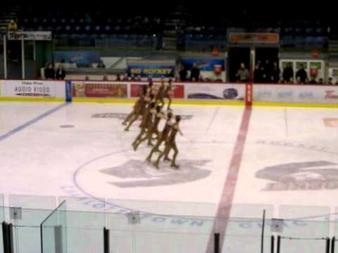 Friendship Synchro Competition 2012: Summerside SilhouettesRoutine