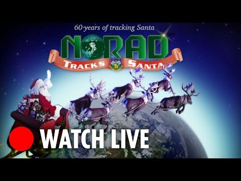 NORAD tracks Santa as he delivers toys around the world this Christmas