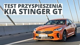 Kia Stinger GT 3.3 T-GDi 366 KM (AT) - acceleration 0-100 km/h