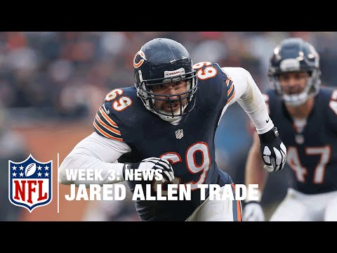 Carolina Panthers Trade for Jared Allen | NFL