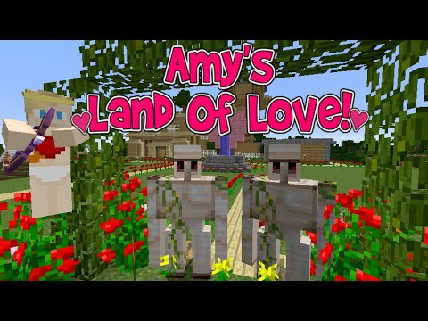 Amy's Land Of Love! Ep.129 VALENTINES DAY! The Wedding! | Minecraft | Amy Lee33