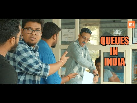 Types Of People In Lines | Queues In India