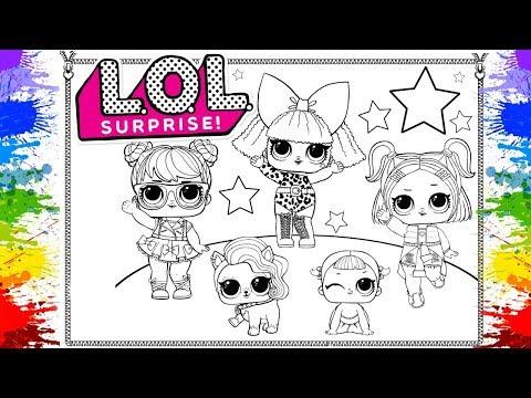 Colorir Boneca Lol Surpresa Jogos De Pintar Lol Desenhos Animados