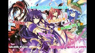 date-a-live-nightcore---alone-ii-alone-play-faded-switching-vocals-alan-walker-mashup