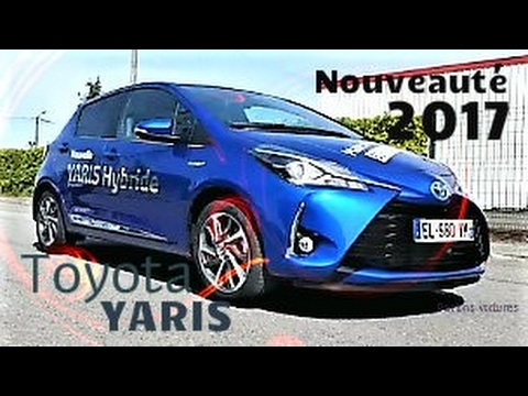 essai toyota yaris 2018 la citadine hybride made in france super restylage youtube. Black Bedroom Furniture Sets. Home Design Ideas