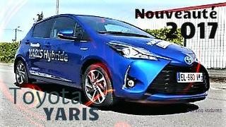 Essai toyota Yaris 2018 la citadine hybride Made in France super restylage