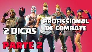 DICAS PARA CONSTRUIR NO PROFISSIONAL DE COMBATE! (PARTE 2) Fortnite Battle Royale