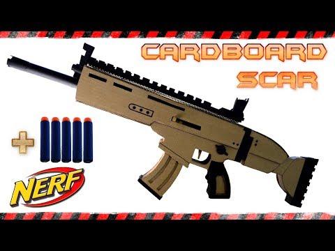 Cardboard Scar Fortnite
