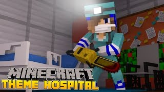 Minecraft-Theme Hospital-CAN LITTLE CARLY SAVE HER PATIENTS??