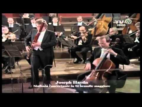 Joseph Haydn Sinfonia concertante for violin, cello, oboe, bassoon, and orchestra, Hob.I:105