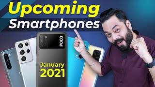 Top 10+ Best Upcoming Mobile Phone Launches ⚡ January 2021