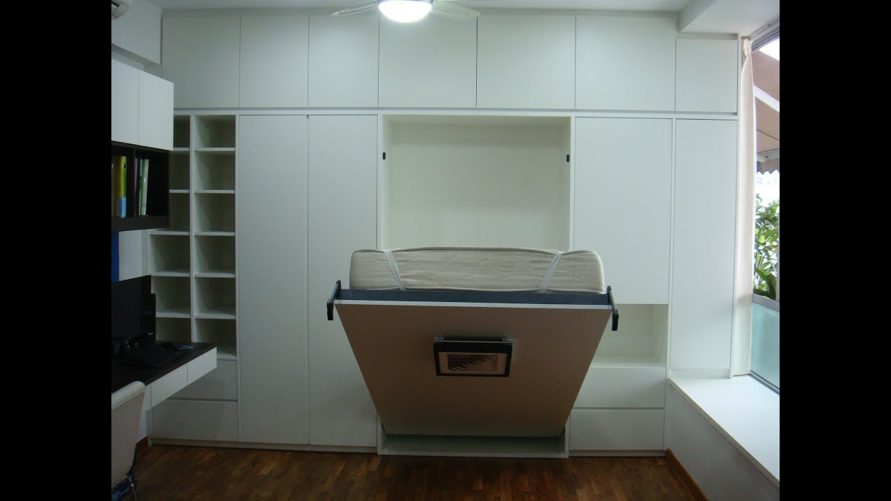 Srm Furnitures: HWB-Queen -ClementiWoods Condo-Boy'sRm+Warbrobe+Storages