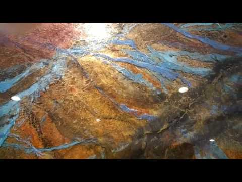 Goergeous Resin Art - 8 Layer Pour