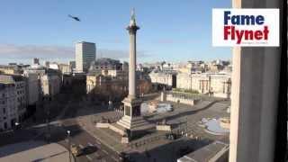 EXCLUSIVE - Tom Cruise filming in Trafalgar Square, London