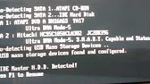 no ide master hdd detected press f1 to resume disabilitare
