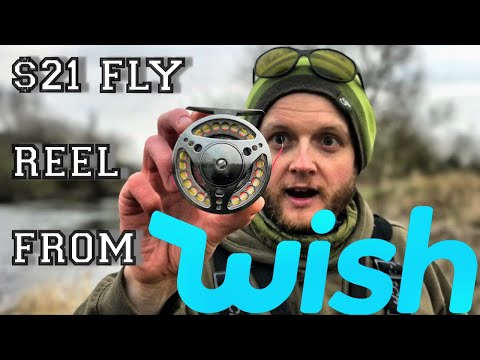 Super Cheap WISH Fly Fishing Reel BARGAIN - Review & Unboxing