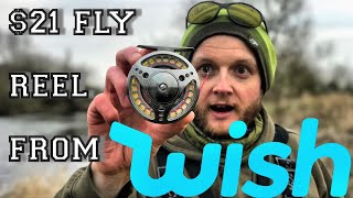 Review & Unboxing: £17 WISH Fly Fishing Reel - Will It Work?