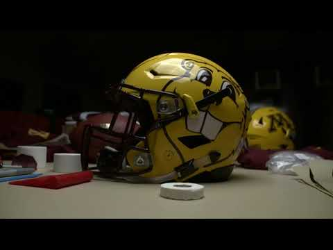 Minnesota Football: Goldy Gopher Helmet Closer Look