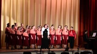 Выступление Концертного хора