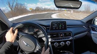 2019 Genesis G70 2.0T Sport (6-Speed Manual) - POV Review