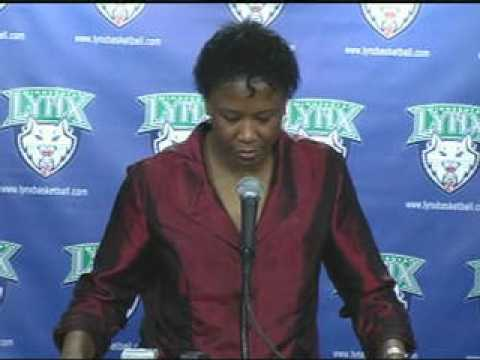 Post Game Audio with Coach Gillom: Minnesota Lynx vs. New York Liberty 6-23-09