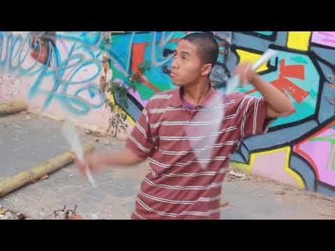 Indonesia Nunchaku Freestyle - Hasani Al-ilawy