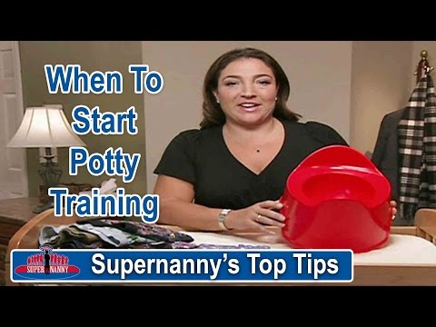 Supernannys Top Tips When To Start Potty Training