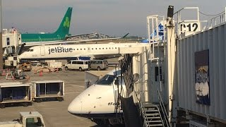 (THIS IS THE FUNEST!!!!) JetBlue E-190 Takeoff From Boston