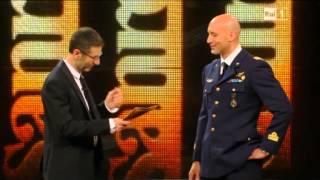 Magg. Parmitano ospite a Sanremo 2014 (Raiuno del 21.2.2014)