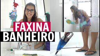 FAXINA NO BANHEIRO | VIDA DE CASADA