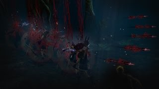 Path of Exile - Gore Lightning Arrow Skill Effect