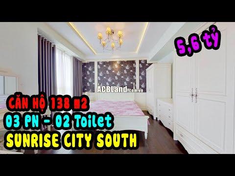 Bán căn hộ Sunrise City South 138m2 Full nội thất 5,6 tỷ
