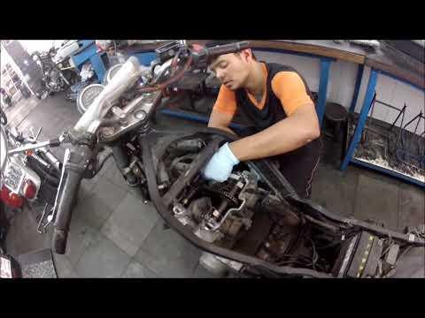 Mecânico Legal - Revisão geral SUZUKI GS/500 Cliente Alexandre Mora Campinas
